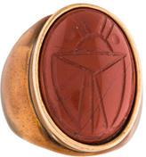 Oscar de la Renta Scarab Ring