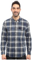 True Grit Summit Plaid Two-Pocket Western Shirt with Chambray