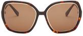 Derek Lam Women's Broadway Square Sunglasses