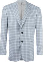 Brioni checked blazer - men - Wool/Cupro - 50