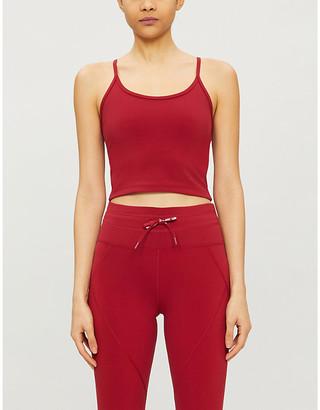 Lorna Jane Cropped Excel stretch-jersey crop top