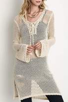 Umgee USA Sheer Crochet Tunic