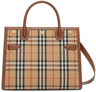 Burberry Title Vintage check tote bag