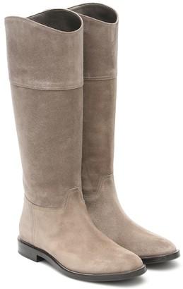 Brunello Cucinelli Suede knee-high boots