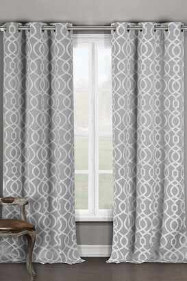 Duck River Textile Harris Blackout Grommet Curtain - Set of 2 - Grey