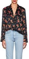 A.L.C. Women's Leomie Floral Stretch-Silk Blouse