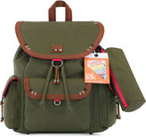 The Sak Pacifica Flap Medium Backpack with Patches, a Macy's Exclusive Style