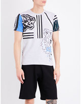 Kenzo Multi-icon Cotton-jersey T-shirt