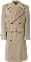 Marc Jacobs - belted double breasted coat