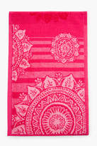 Desigual Romantic Patch Mini Towel