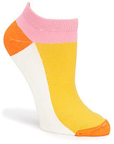 Kate Spade Colorblocked Kick Up Your Heels No-Show Socks