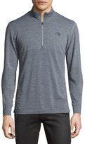 The North Face Wool-Blend Quarter-Zip Hiking Pullover, Dark Gray