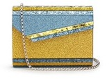 Jimmy Choo 'Candy' glitter paillette acrylic clutch