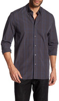 Peter Werth Irving Plaid Trim Fit Shirt