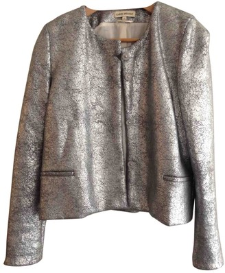 Carin Wester Silver Jacket for Women