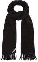 Acne Studios Canada Wool Scarf - Womens - Black