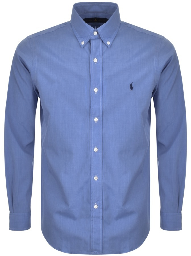 Ralph Lauren Custom Fit Shirt Blue
