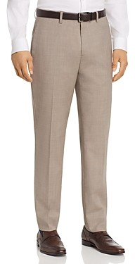 Theory Mayer Textured Solid Slim Fit Suit Pants