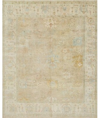 Loloi Rugs Abelard Oriental Hand-Knotted Wool Beige Area Rug Rug Size: Rectangle 4' x 6'