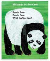 Eric Carle Panda Bear, Panda Bear,What Do You See