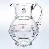 Juliska Isabella Round Glass Pitcher