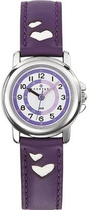 Certus Kids' Quartz Watch with Leather Strap 647452