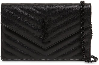Saint Laurent SMALL MONOGRAM QUILTED LEATHER BAG