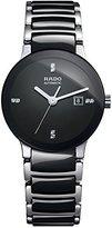 Rado Centrix Black Dial Ceramic SS Automatic Ladies Watch R30942702