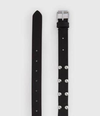 AllSaints Canis Leather Belt
