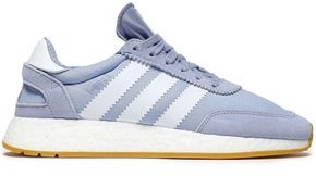 adidas I-5923 Suede-trimmed Knitted Sneakers