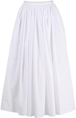 Marni Gathered Mid-Length Skirt