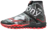 Saucony Razor Ice+ Trail Running Shoes Black/white/red