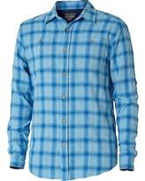 Royal Robbins Men's Cool Mesh Linen Plaid Long Sleeve Shirt