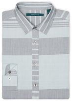 Perry Ellis Engineered Horizontal Stripe Shirt
