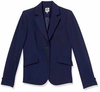Anne Klein Women's Twill Two Button Jacket