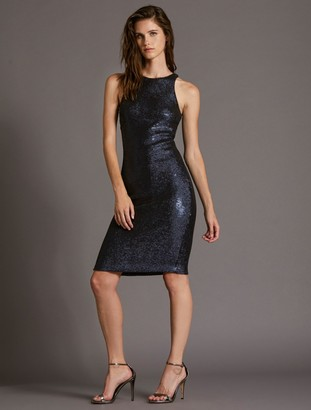 Halston Sequin Dress