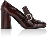 Prada Women's Buckled Kiltie Pumps-PURPLE