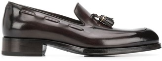 Tom Ford Tassel Detailed Leather Loafers