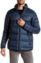 New Balance Quilted Puffer Hooded Zip Jacket