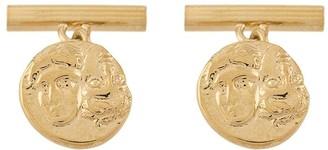 Victoria Strigini Istros coin cufflinks