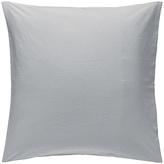 Habitat Washed Pillowcase 65x65cm - Stone