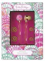 Lilly Pulitzer Volume Control Earbuds