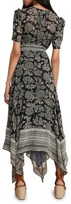 Veronica Beard Smita Batik Floral Maxi Dress