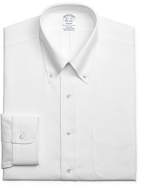 Brooks Brothers Solid Regular Fit Dress Shirt