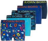 Bjorn Borg LOST CAMOLINE SAMMY 5 PACK Shorts surf the web