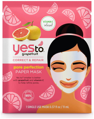Yes To yes to Grapefruit Vitamin C Glow Boosting Paper Mask 20ml