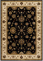 "Kenneth Mink Area Rug, Warwick Tabriz Black/Wheat 3'3"" x 5'3"""