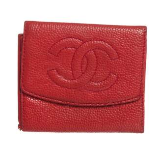 Chanel Red Leather Purses, wallets & cases