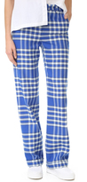 Jacquemus Check Pants
