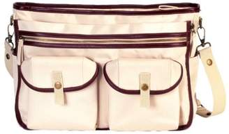Little Company Exclusive Shoulder Bag in Beige with Leather Finish